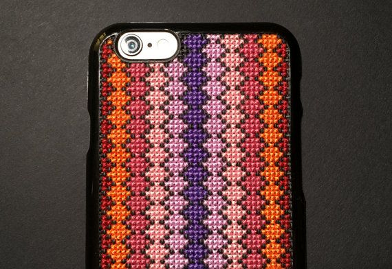 newest 4c091 fb276 Free Shipping! Unique Cross Stitch Phone Case for iPhone 6 & iPhone ...