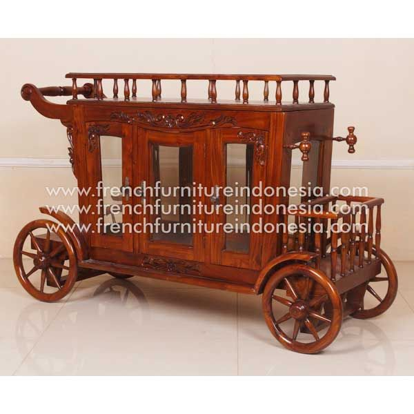 Buy Carved Tea Wagon from French Furniture Style. We are