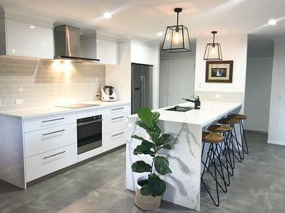 Brisbane Builder Eclat Building Co. Kitchen Renovation. This Light,  Industrial And Modern Kitchen