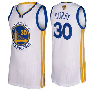 check out 82bbd 4586a Stephen Curry Jersey: adidas 'The Finals' White Authentic ...