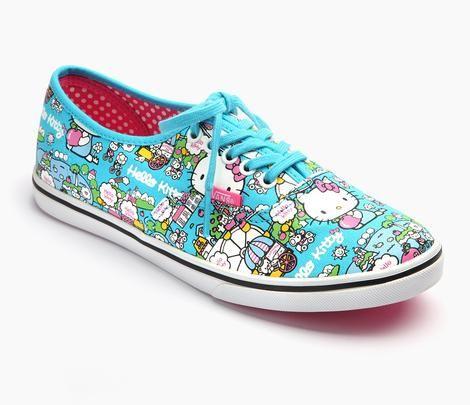 efa047e584ebe3 VANS x Hello Kitty Authentic Lo Pro  Blue