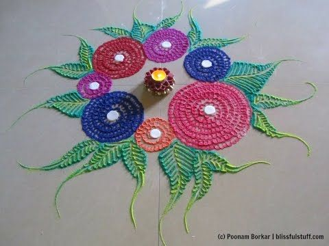 Small Easy And Quick Rangoli Design Innovative Rangoli Designs By