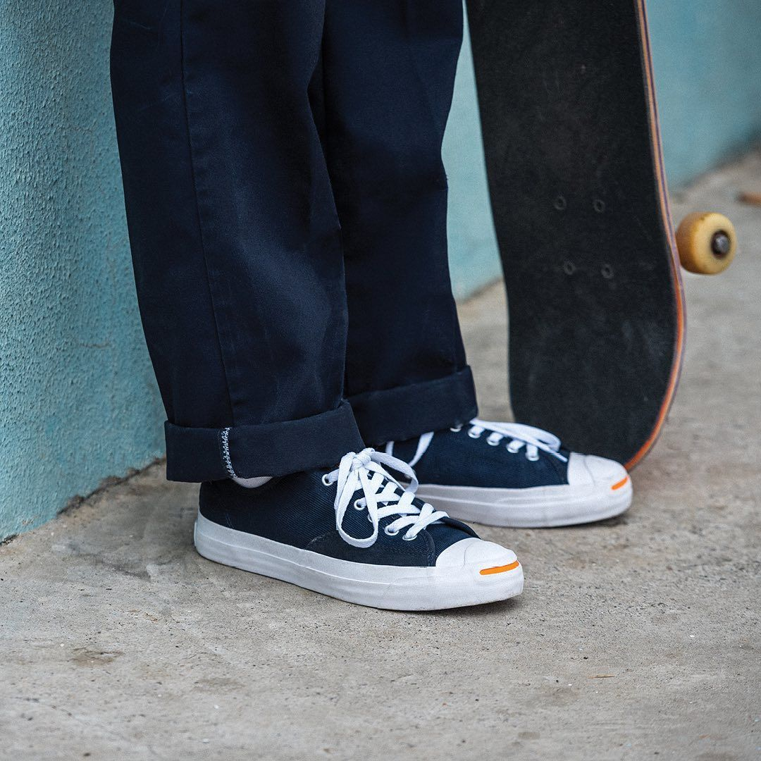 Converse CONS Jack Purcell Pro Ox Shoes (dark obsidian blue