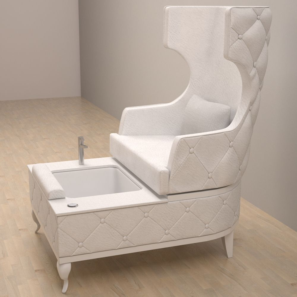 The carrie pedicure chair is inspired by the fashion icon for Chairs in salon