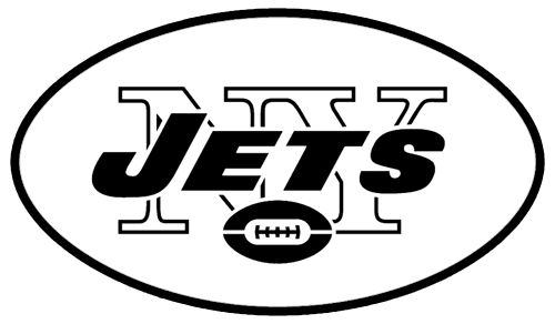 new york jets logo black and white google search