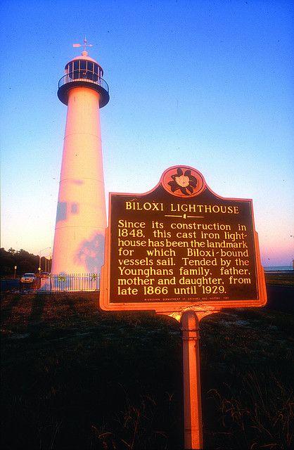 Mississippi Biloxi Lighthouse Biloxi Lighthouse Mississippi Biloxi Mississippi Vacation