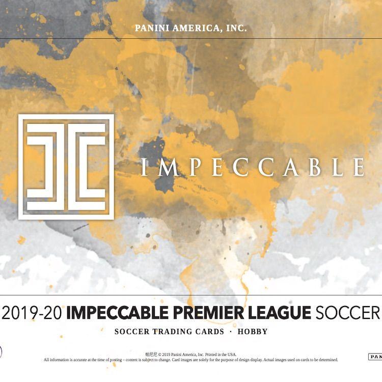 201920 panini impeccable premier league soccer cards set