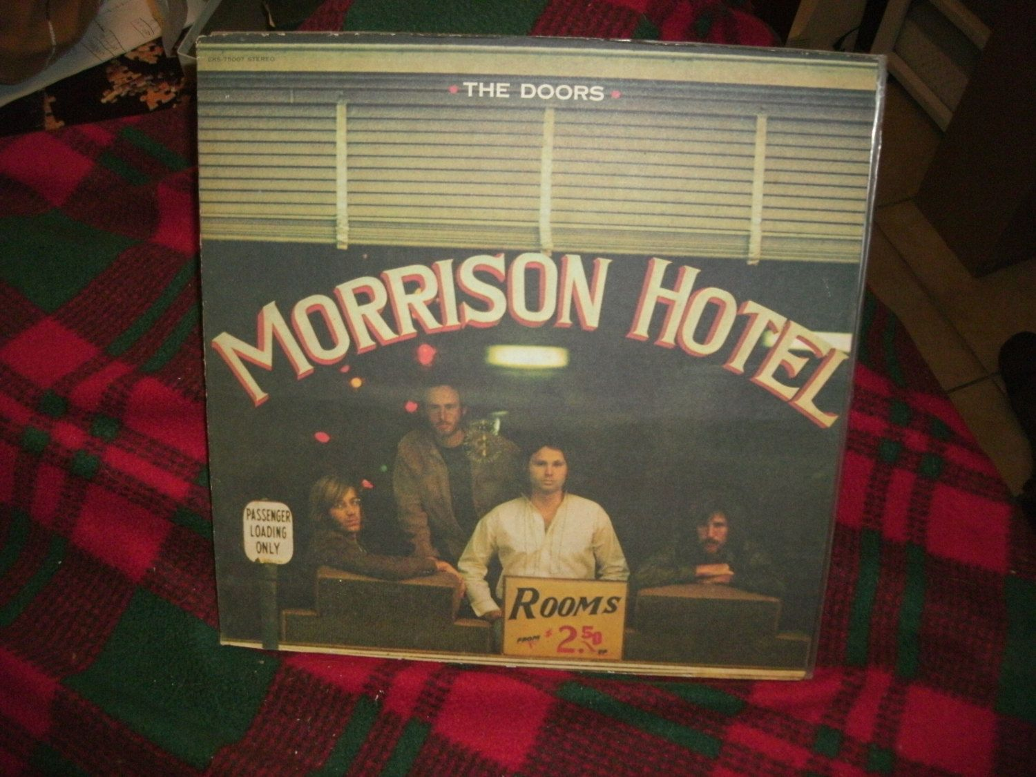 The Doors- Morrison Hotel  - 1976 Reissue Elektra Butterfly Label EKS-75007