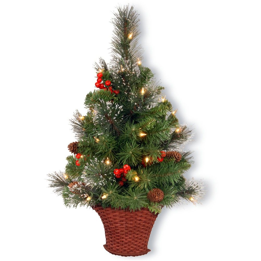 3 foot christmas tree with lights outdoor foot crestood spruce half tree with 50 battery operated warm white led lights