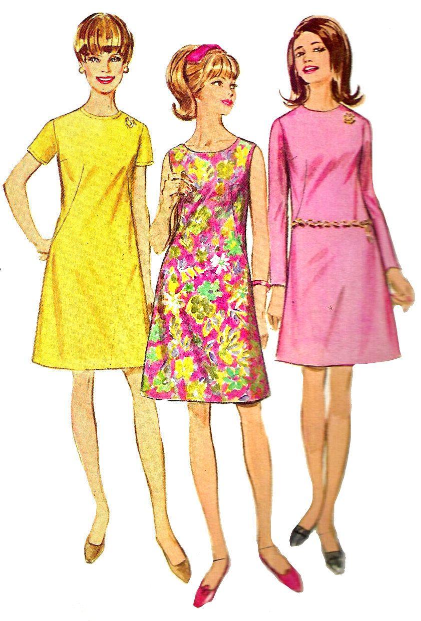 1960s Dress Patterns Custom Ideas