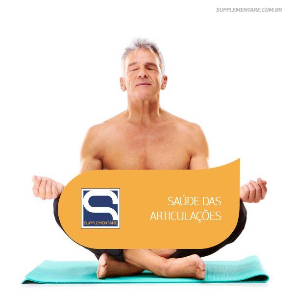 Saúde das Articulações Na Supplementare temos o produto certo para seu objetivo! Confira: http://buff.ly/1dAXpR4