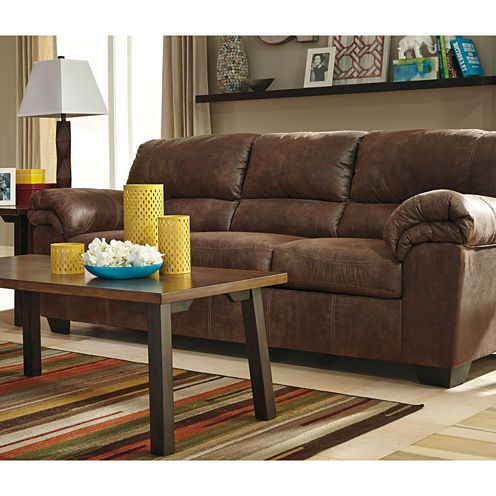 Signature Design By Ashley Benton Sofa Jcpenney Leather Sofa And