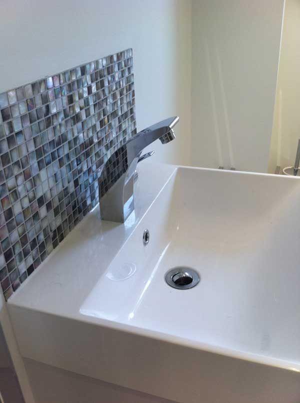 Splashback Tiles For Bathroom. Mosaic Tile Bathroom Splashback