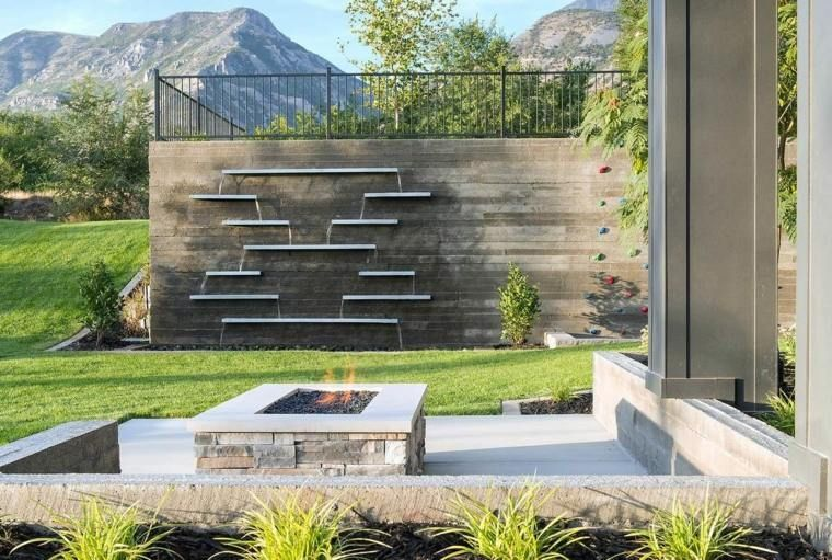 deco mur exterieur design clotures de jardin