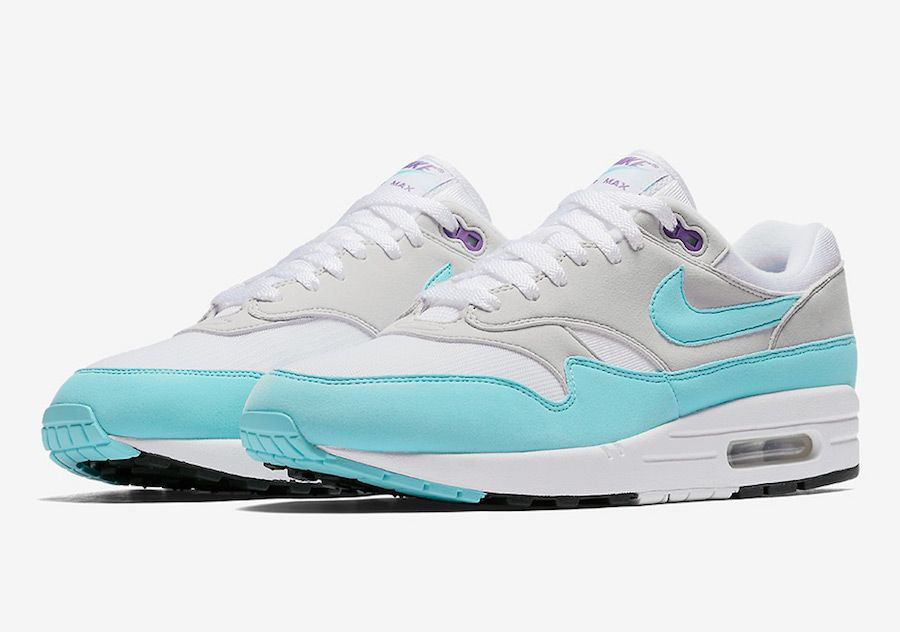 size 40 a0999 e246e The Next Nike Air Max 1 Anniversary Releases in Aqua and Purple