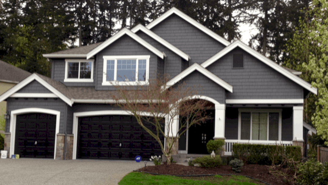 Elegant Grey Exterior Paint Colors #greyexteriorhousecolors