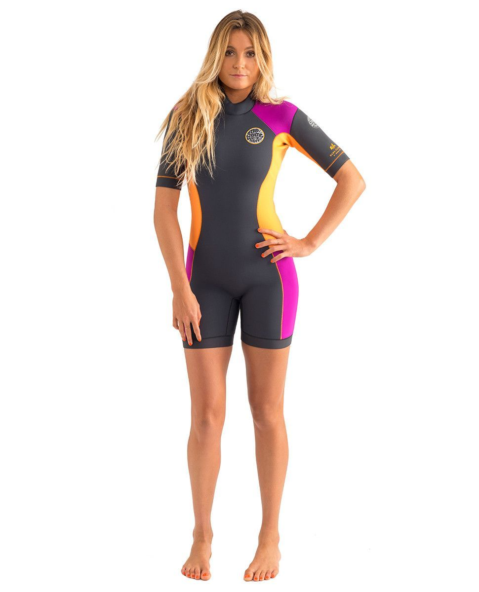 955412fcfd Rip Curl Womens Wetsuit Dawn Patrol Short Sleeve Springsuit