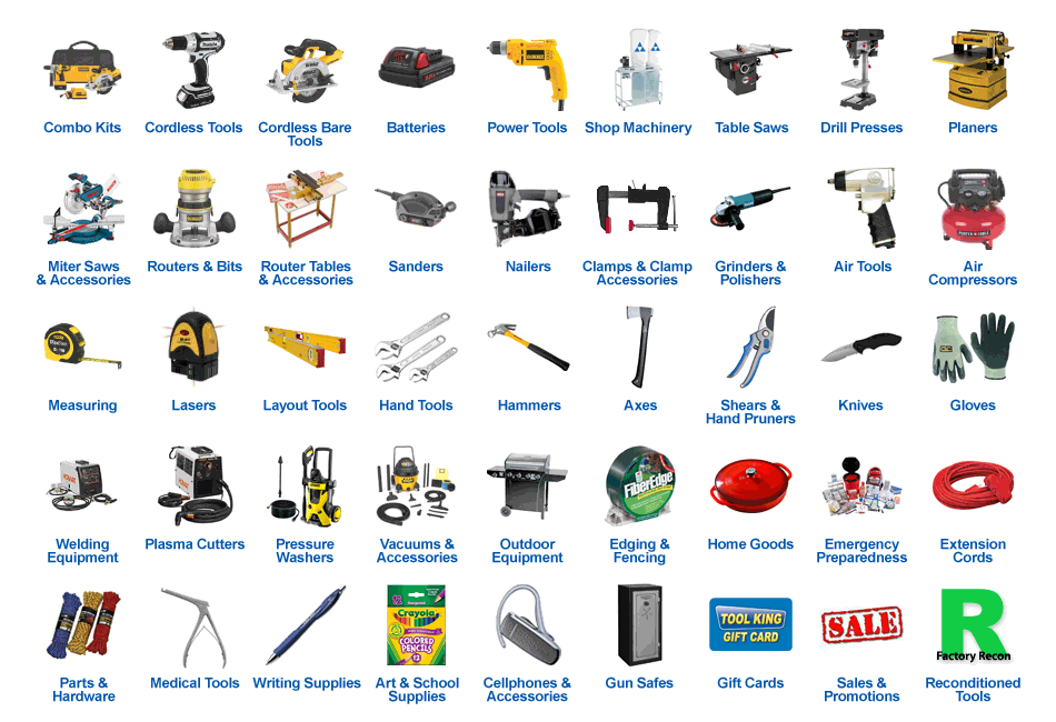 Construction Tools Names With Yahoo Image Search Results