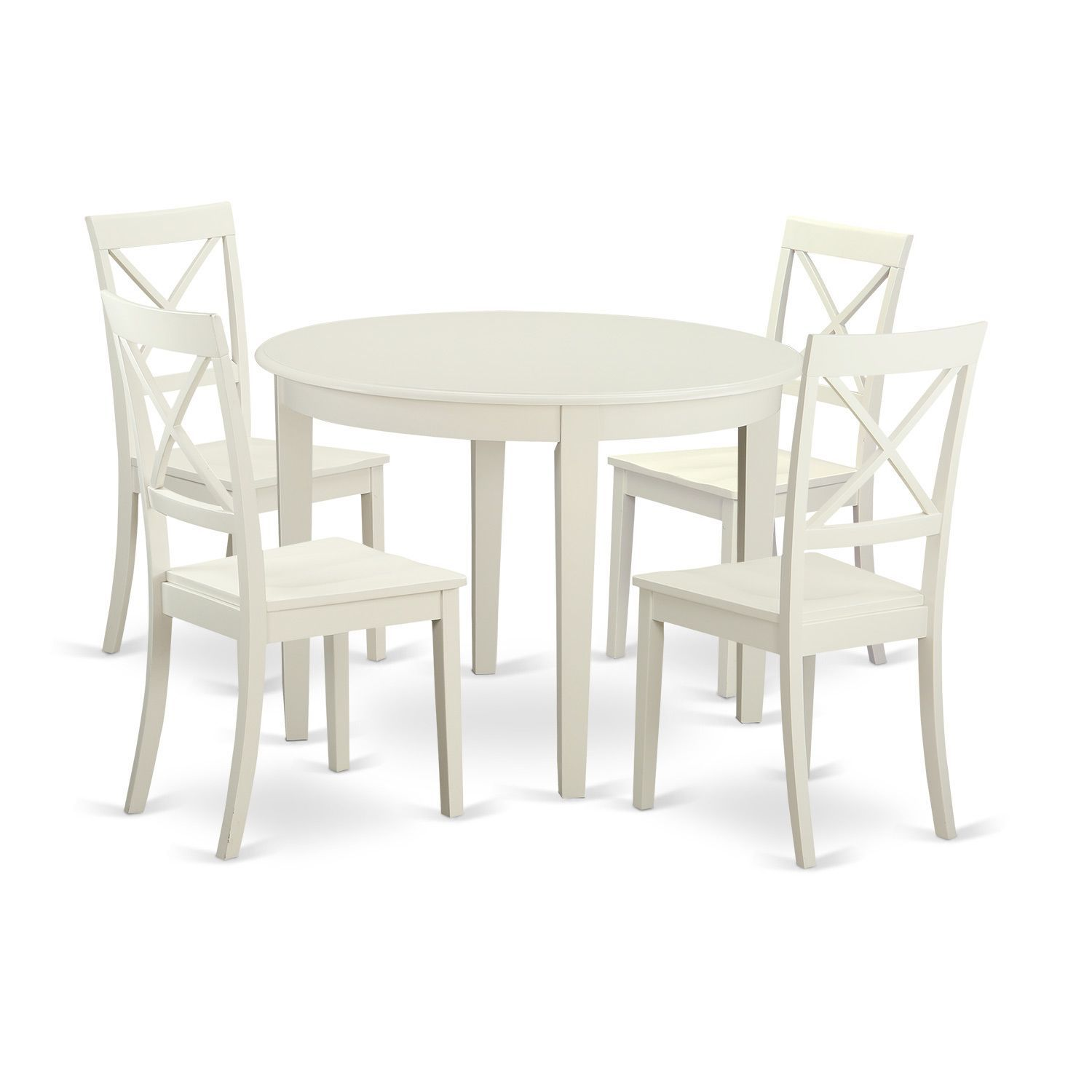 5-piece Kitchen Nook Dining Set For 4-table and 4 Kitchen Chairs ...