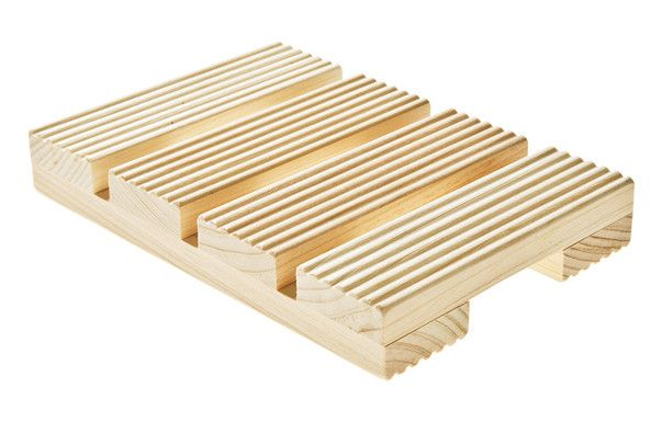 Japanese Cypress Wood Soap Dish - Kaufmann Mercantile ...