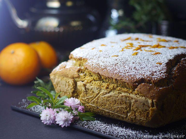 Vegan Gluten Free Spiced Tangerine Coffee Cake K In 2019 Vegan