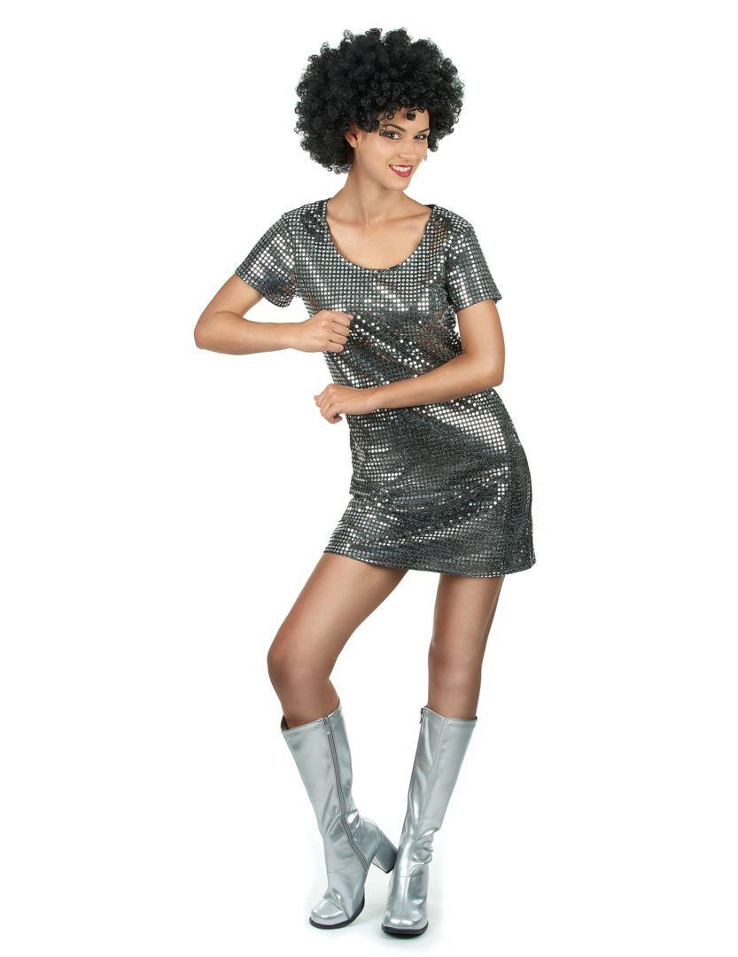 disco  robe  mode  femme   Déguisement   Pinterest   Disco party ... d876408f570e
