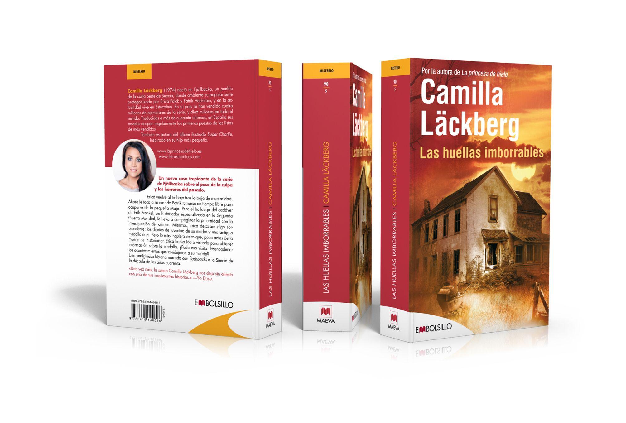 COBERTES DE LLIBRES (NARRATIVA): Segell editorial EMBOLSILLO de llibres de butxaca / Maeva Ediciones / 2007 / Disseny del logotip i de les cobertes del segell editorial