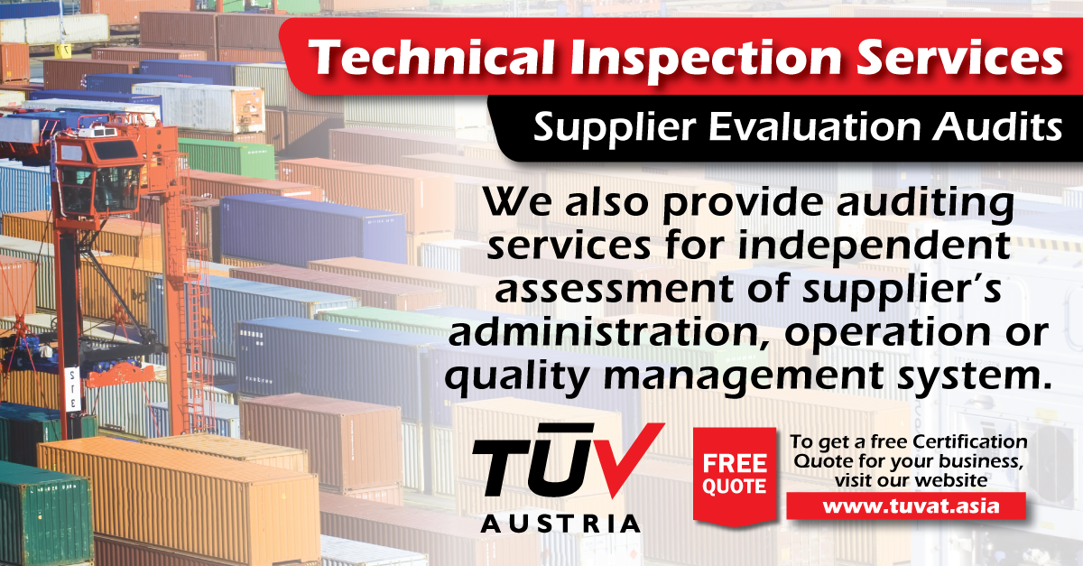 Tuv Austria Technical Inspection Services For Further Queries