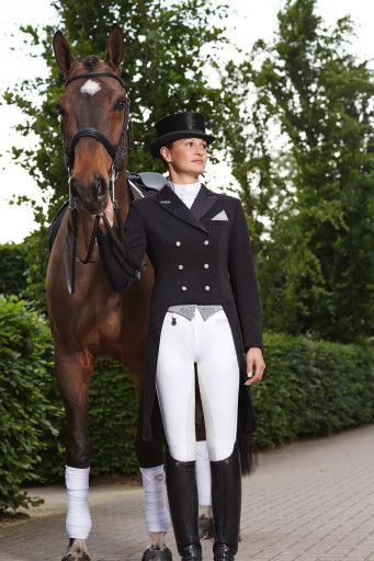 Pikeur Jersey Ladies Dressage Tailcoat Equestrian