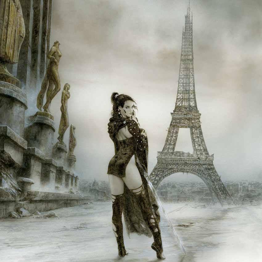 Akelarre - Malefic Time Book 3 Luis Royo Art & Artist