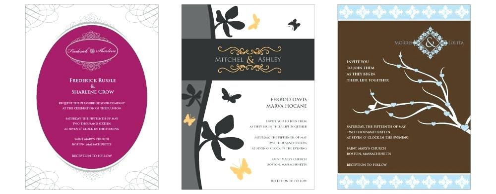 wedding invitations maker software free download wedding