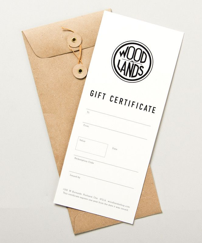 Gift Certificates for food after baby comes - or before design