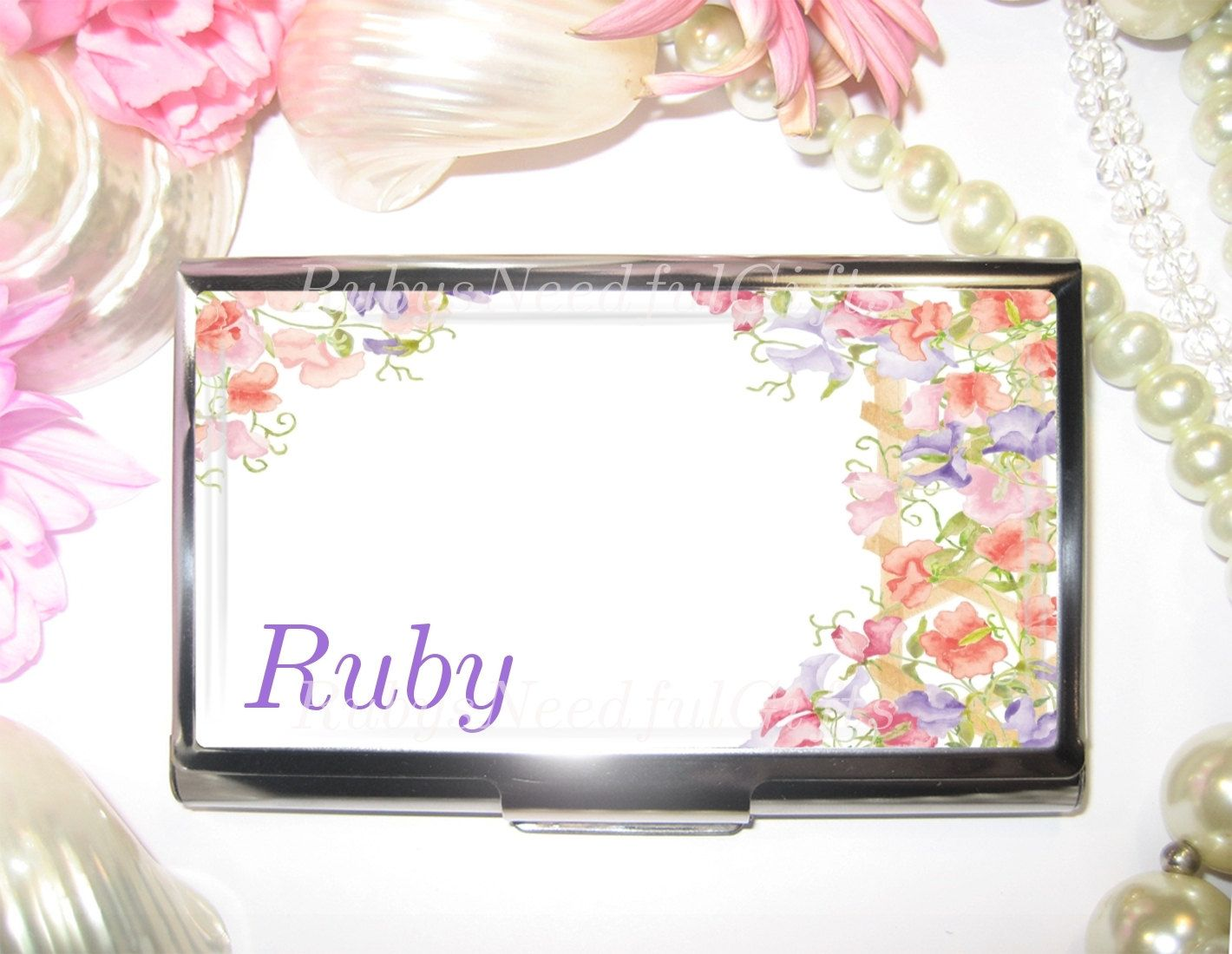 Personalised Business Card Holder, Card Holder, Business Card Case ...
