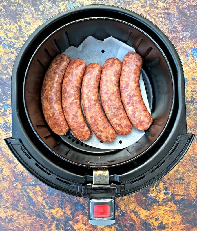 Quick and Easy Air Fryer Sausage is the best recipe for