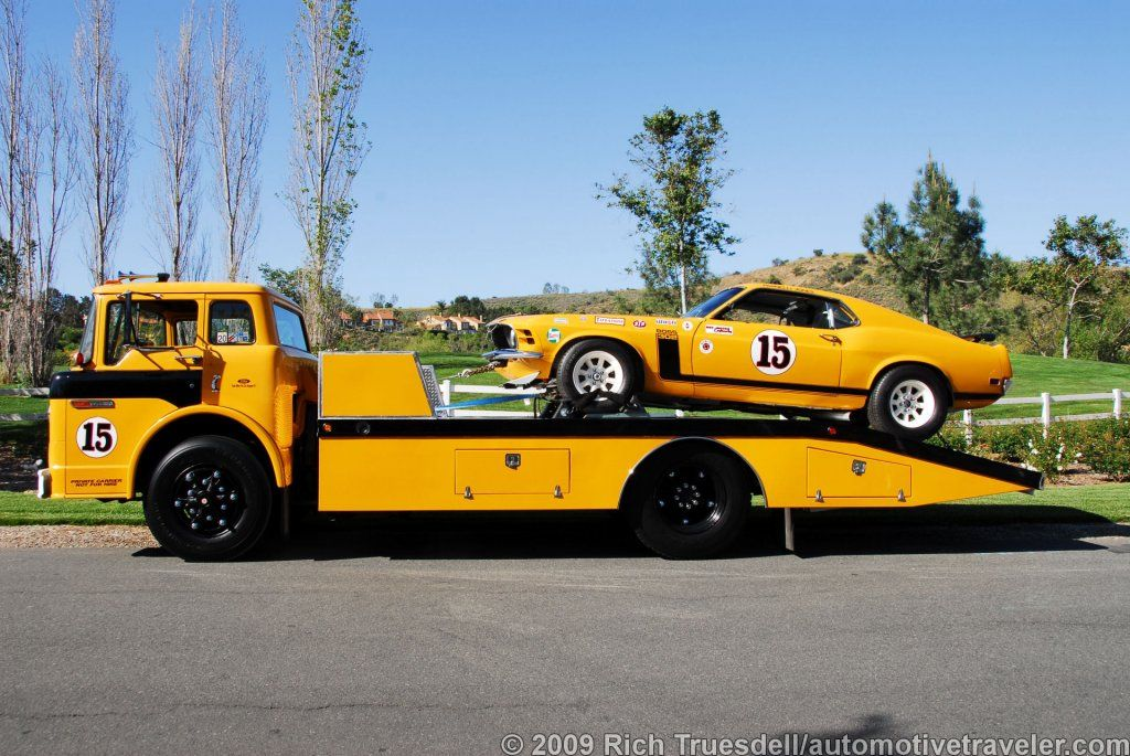 A Photographic History of Vintage Race Car Transporters | Mustang ...