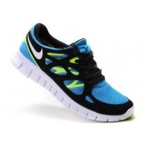 nouveau concept 7d79c 895d2 Nike Free Run 2 Hyper Bleu / Volt / Noir Homme Chaussures de ...