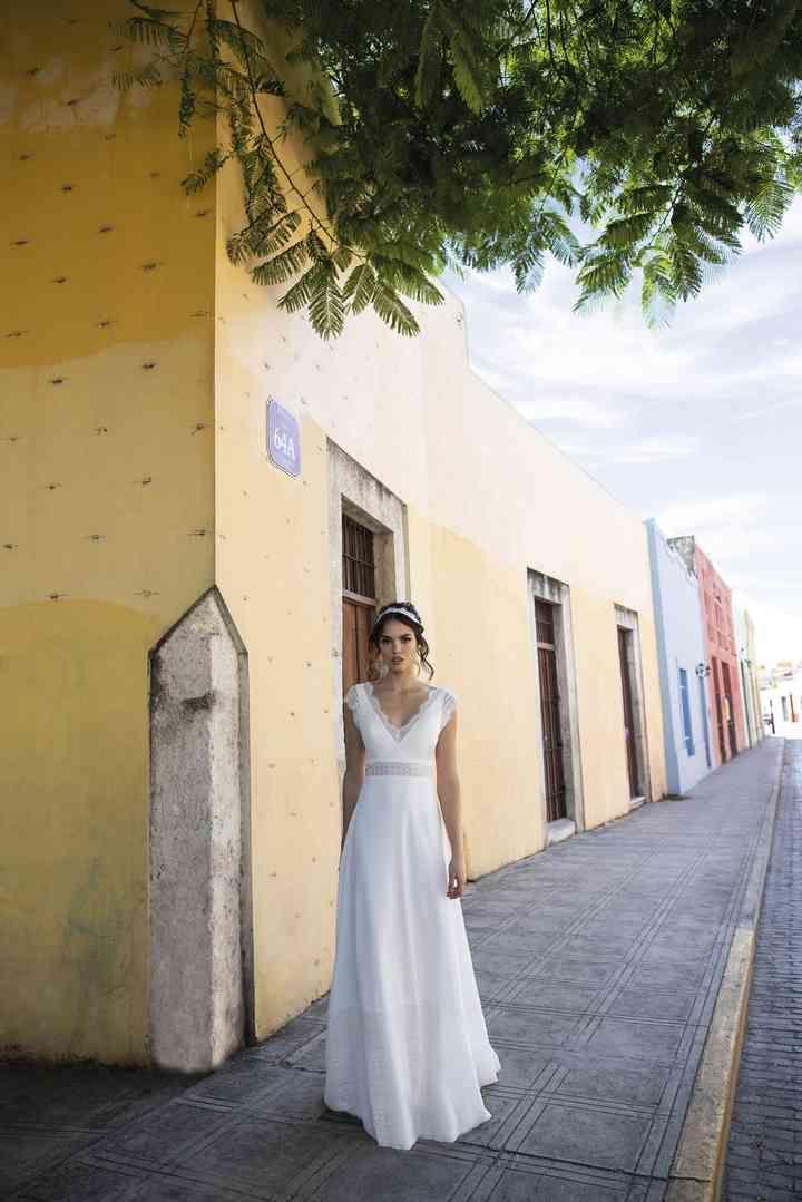 50 vestidos de novia sencillos para deslumbrar en tu gran día