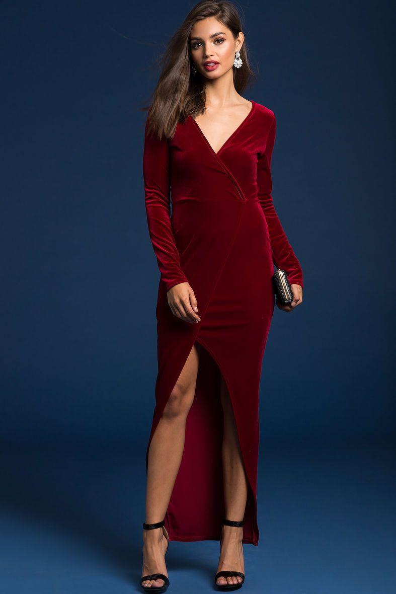 A'GACI | Under Wraps Velvet Dress | #SoExclusive