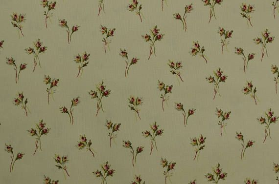 Cotton Quilting Fabric by the Yard Cotton Fabric Cream www.thefabricscore.etsy.com #quilting #sewing #crafts #diy