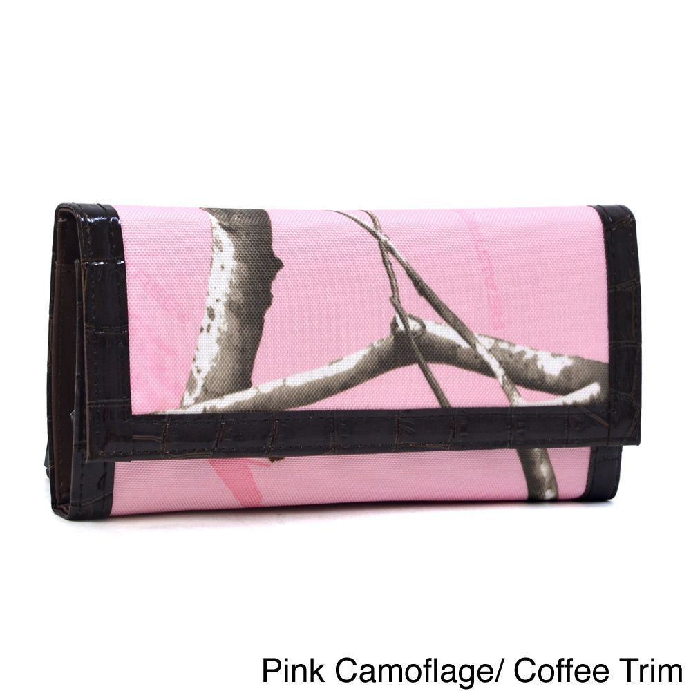 Realtree Camouflage Tri-fold Checkbook Wallet | Purse\'s | Pinterest ...