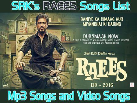 shahrukh best songs list