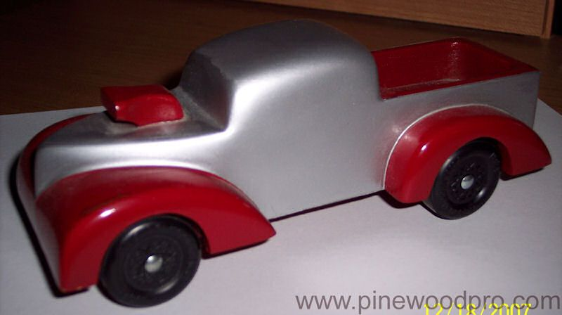 Vintage Racing Truck Pinewood Derby Cars and Races Pinterest - pinewood derby template