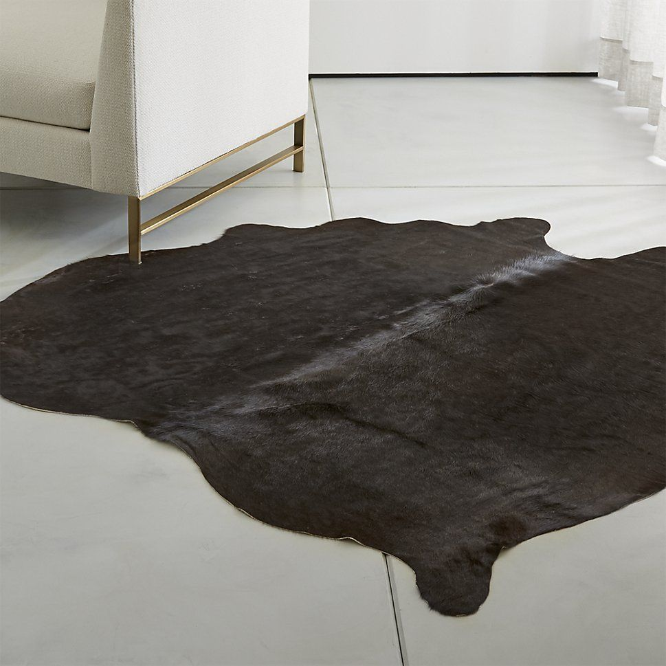 Espresso Brown Cowhide Rug Crate And Barrel Cowhiderugs