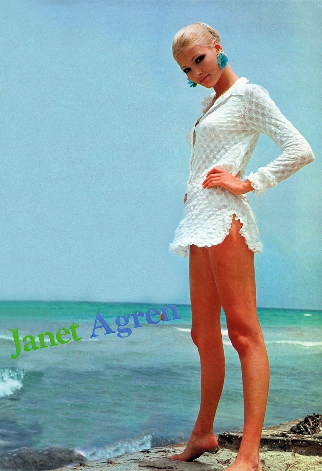 Janet Agren (born 1949 (Swedish actress who mainly worked in Italy)