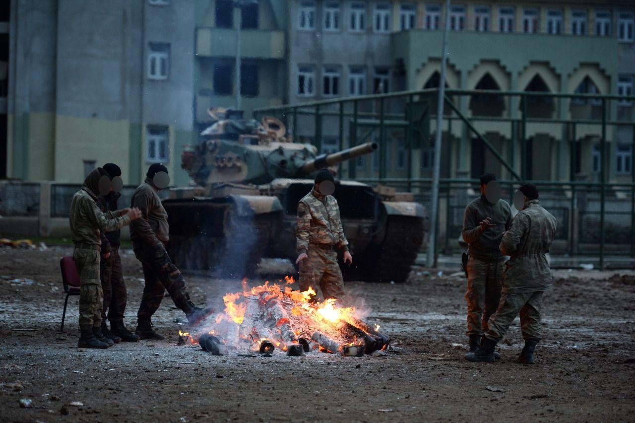 Turkish Military's anti-PKK operations in Cizre, Turkey 2016