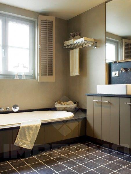 Natuursteen tegels blauwe hardsteen graniet tegels landelijk wonen vloeren pinterest - Tegel imitatie parket badkamer ...