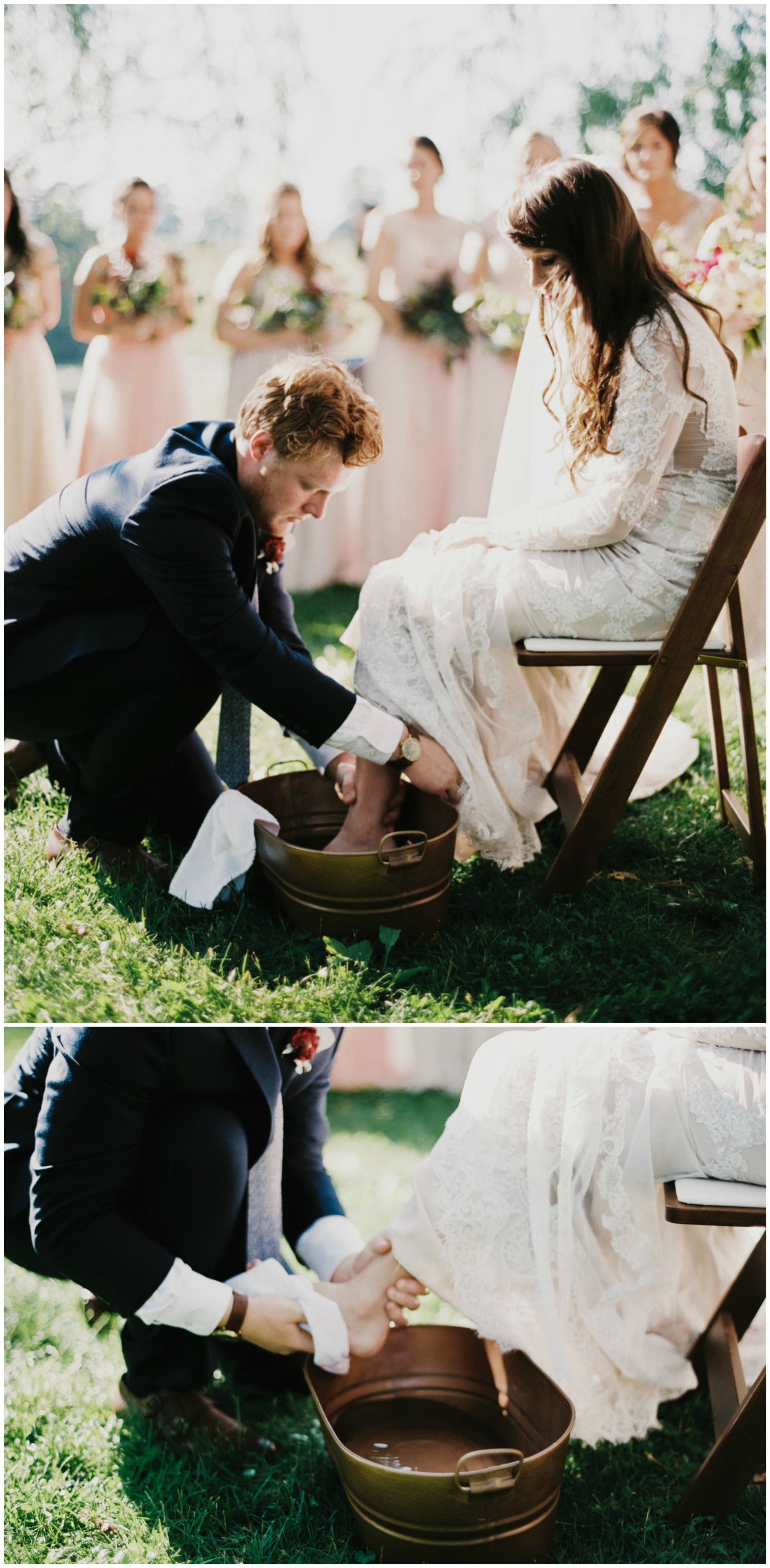 Feet Washing Ceremony Outdoor Wedding Ideas Spiritual Ceremony Rituals Zachary Taylor Photography Outdoor Wedding Wedding Wedding Rituals