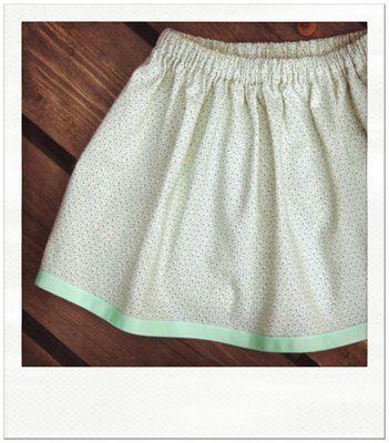 lazy days skirt free pattern | Rock, Nähen und Kinderkleidung