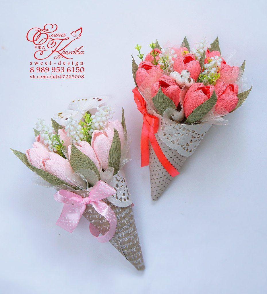 зонтики из конфет пошаговая инструкция