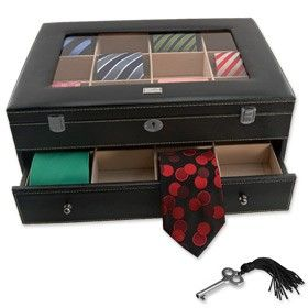Locking Necktie Box Storage Devices Review | Buy, Shop With Friends, Sale |  Kaboodle